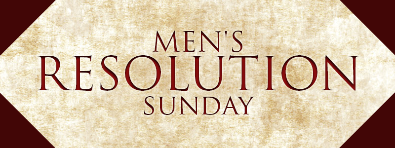 Mens Resolution